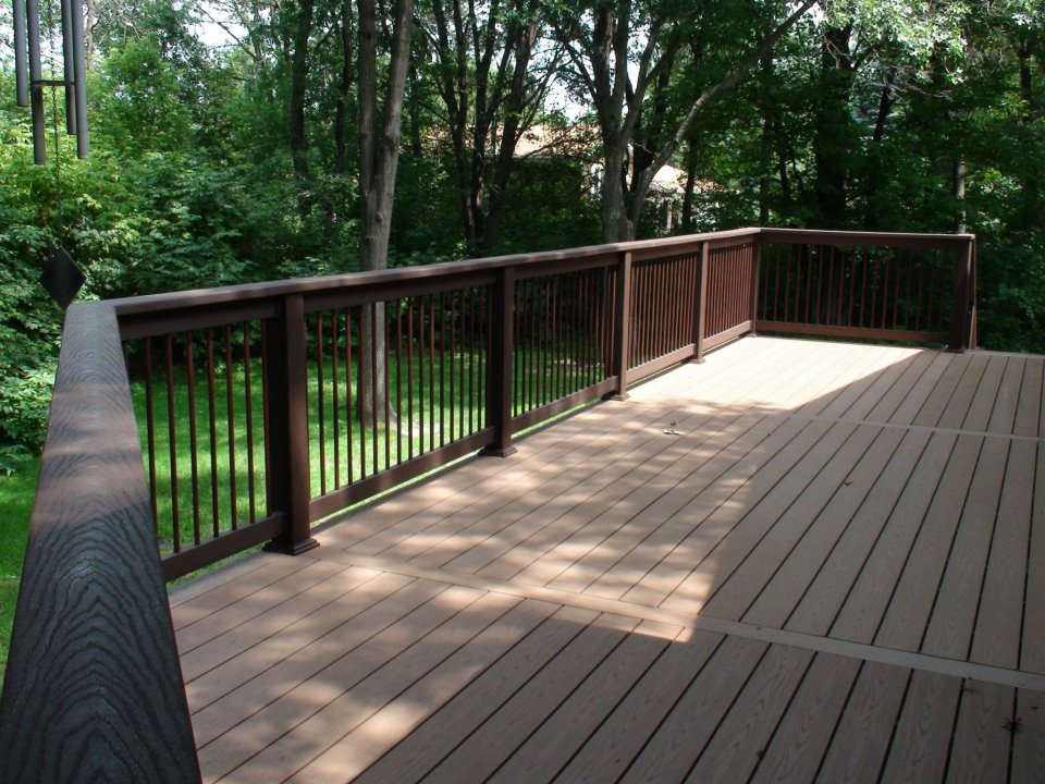 Decking for Composite deck fasteners