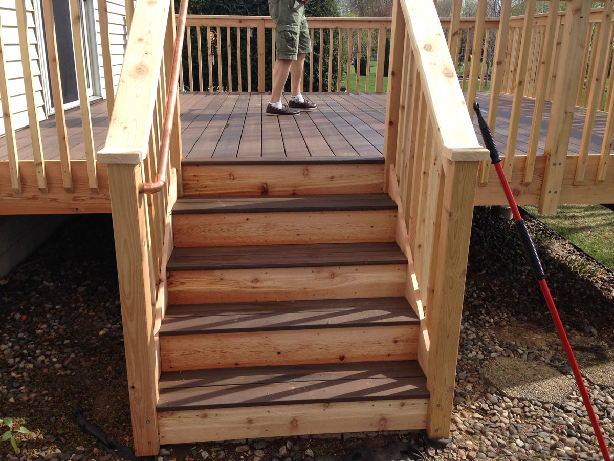 Decking for Veranda composite decking