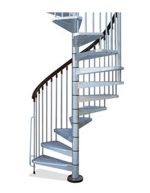 Railings for 8 foot spiral staircase